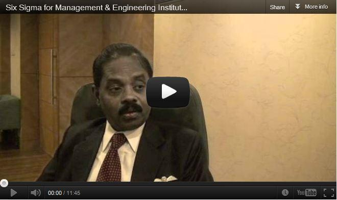 Six Sigma for Management Institutes :