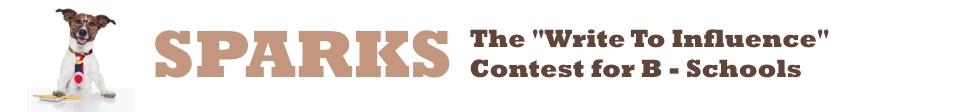 Sparks- The Management Article Contest